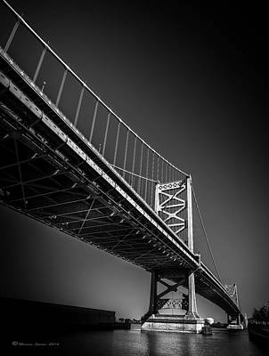 Cityscape Of Philadelphia Photograph - Main Span by Marvin Spates