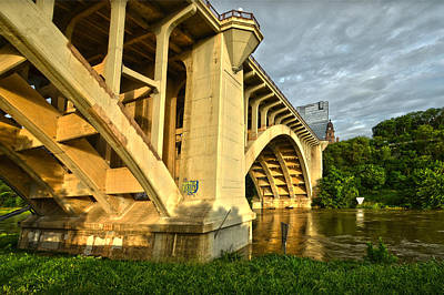 Photograph - Main St Bridge by Ricardo J Ruiz de Porras
