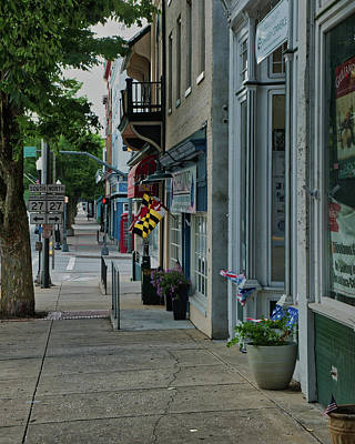 Photograph - Main St by Mark Dodd