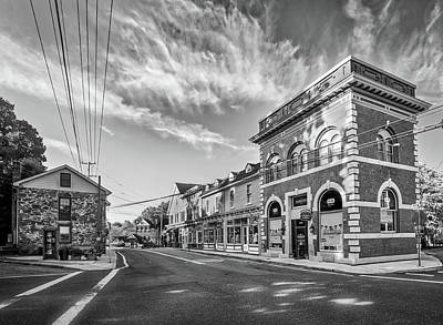 Art Print featuring the photograph Main St Sykesville by Mark Dodd