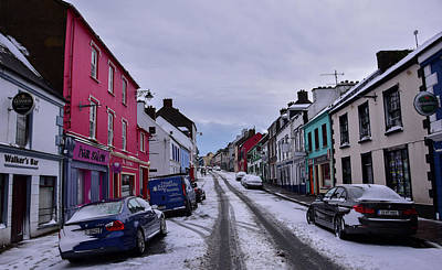 Photograph - Main Street Dingle by Barbara Walsh