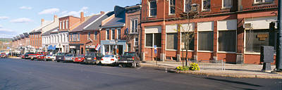 Bucolic Scenes Photograph - Main Street In Belfast, Maine by Panoramic Images