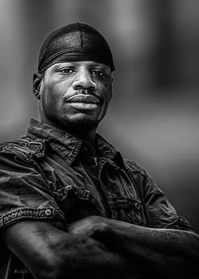 Photograph - Main Street Man by Bob Orsillo