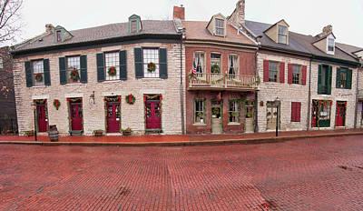 Photograph - Main Street Pano II by Steve Stuller