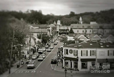 Photograph - Main Street, Port Jefferson, Ny by Paul Cammarata