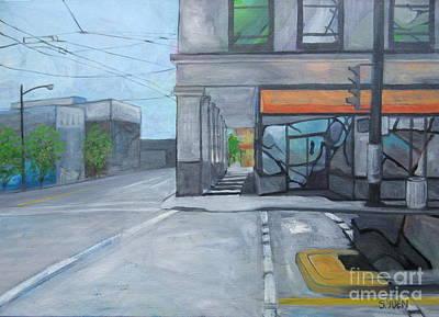 Painting - Main Street by Sandra Yuen MacKay