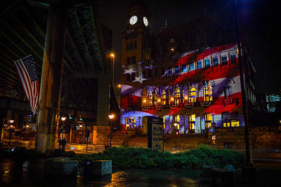 Main Street Station At Night Art Print