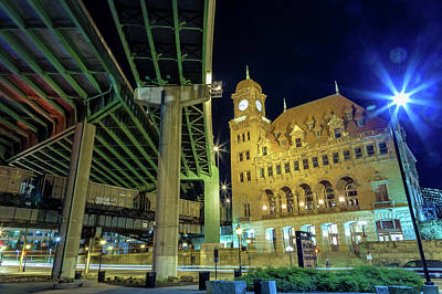 Photograph - Main Street Station by Jonathan Nguyen