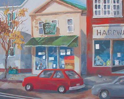 Painting - Main Street by Tony Caviston