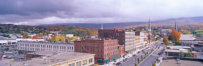 Main Street Usa, North Adams Print by Panoramic Images