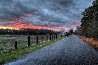 Photograph - Main Sunset by John Loreaux