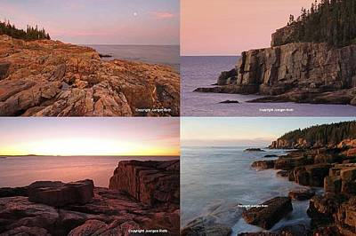 Photograph - Maine Acadia National Park Seacoast Photography by Juergen Roth
