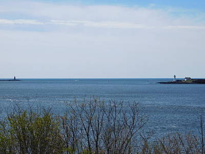 Photograph - Maine And New Hamsphire Lighthouses by Catherine Gagne