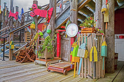 Bouys Photograph - Maine Attraction by Betsy Knapp