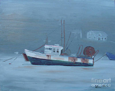 Painting - Maine Boat 2 by Lilibeth Andre