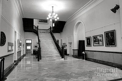 Photograph - Maine Capitol West Wing by Olivier Le Queinec