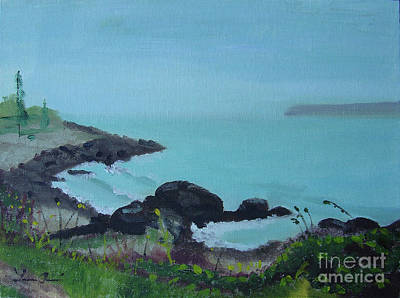 Painting - Maine Coast 1 by Lilibeth Andre