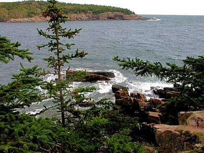 Maine Photograph - Maine Cove by Robert McCulloch