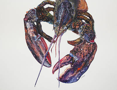 Maine Lobster Original by Kellie Chasse