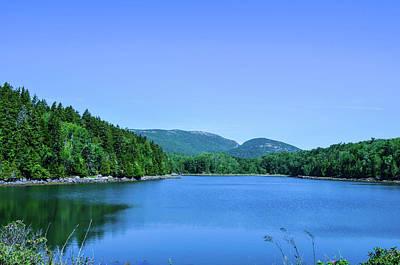 Maine Mountains Digital Art - Maine by Michele Winship