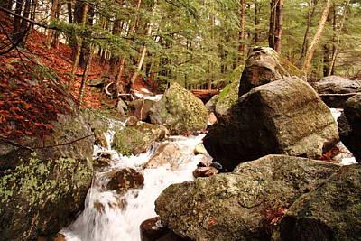 Maine Spring Rocks Original by Doug Mills