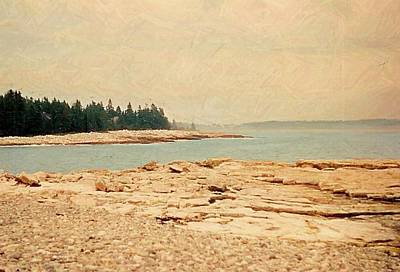Maine Coast Mixed Media - Maine Summer by Desiree Paquette