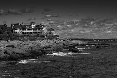 Photograph - Maine Waterfront by Jason Moynihan