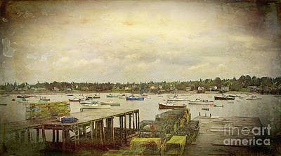 Digital Art - Maine's Bass Harbor by Bill And Deb Hayes