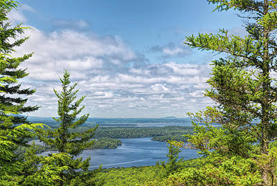 Photograph - Mainland From Beech Mountain by John M Bailey