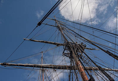 Photograph - Mainmast by Herb Paynter