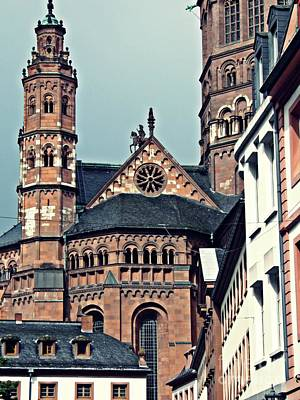 Photograph - Mainz Cathedral by Sarah Loft