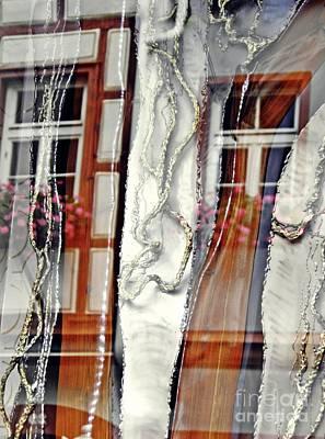 Photograph - Mainz Shop Window Reflection    by Sarah Loft
