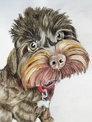 Maisie Moo Art Print