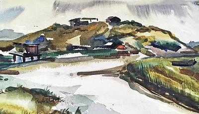 Painting - Maison D'azur by Phyllis Hanson Lester