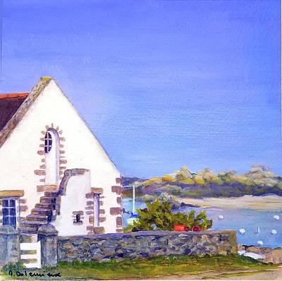 Painting - Maison De Chausey by Muriel Dolemieux
