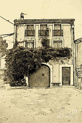 Photograph - Maison Du Ville by Jack Torcello