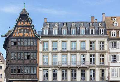 Photograph - Maison Kammerzell And Office De Tourisme by Teresa Mucha