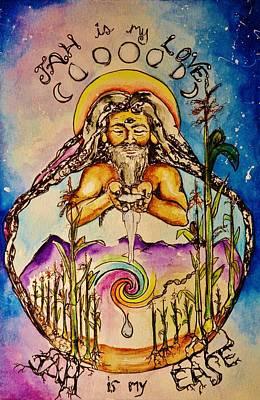 Rasta Drawing - Maize by Mandala Sunfire