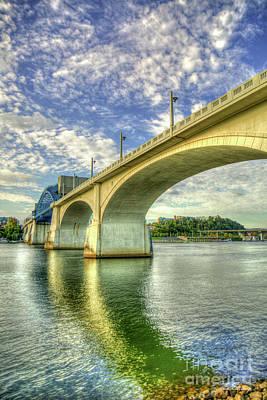 Photograph - Majestic Arches Chief John Ross Market Street Bridge Art by Reid Callaway
