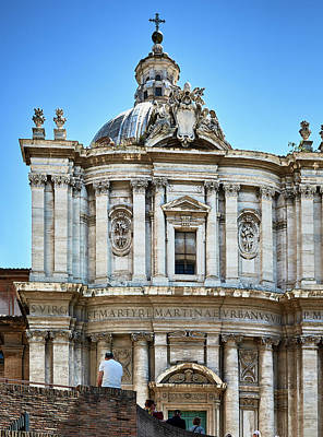Photograph - Majestic Architecture In The Roman Forum by Eduardo Jose Accorinti