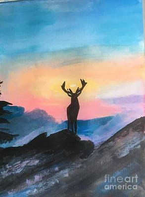 Painting - Majestic by Audrey Pollitt