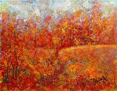 Painting - Majestic Autumn by Natalie Holland