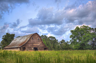 Photograph - Majestic Barn At Philomath  by Reid Callaway