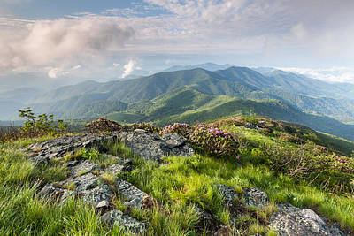 Majestic Blue Ridge Mountains Art Print by Mark VanDyke