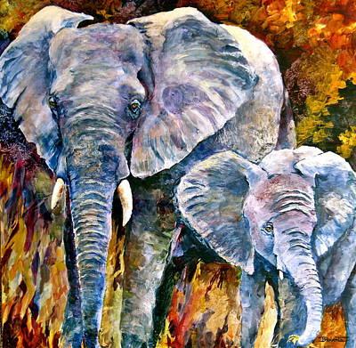 Majestic Art Print by Bonny Roberts