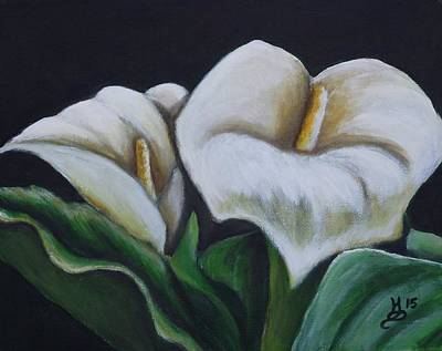 Painting - Majestic Calla by Kim Selig