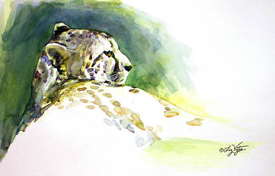 Majestic Cheetah Art Print