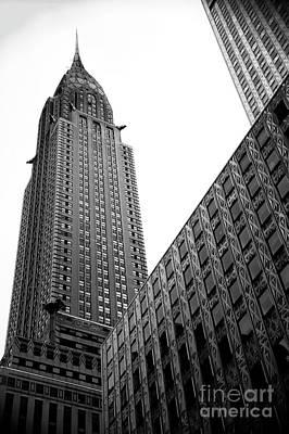 Photograph - Majestic Chrysler Building by John Rizzuto