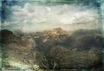 Photograph - Majestic Dolomites by Vittorio Chiampan