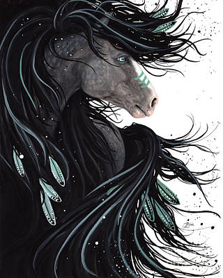 Majestic Dream Horse #138 Print by AmyLyn Bihrle